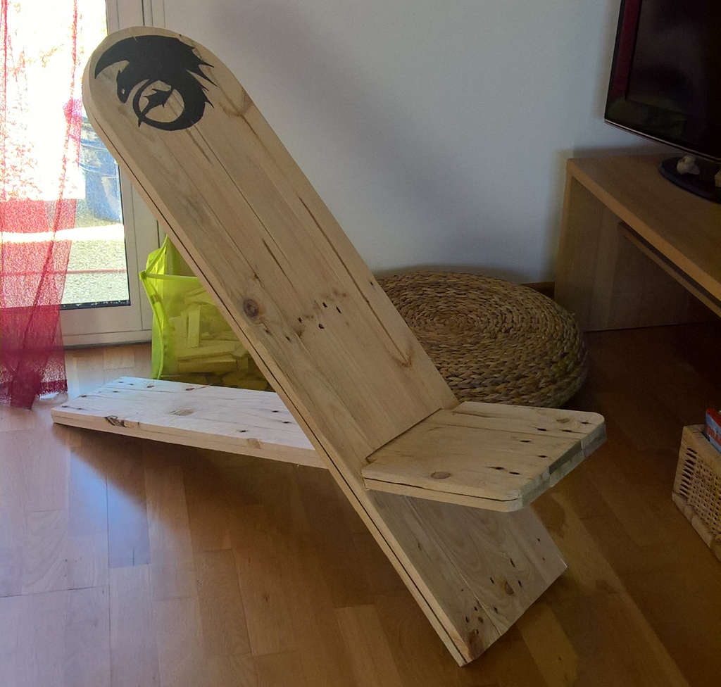 chaise viking