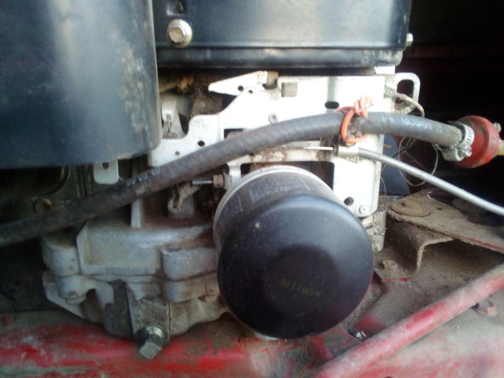 Tracteur tondeuse filtre à huile, filtre a essence